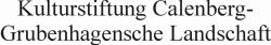 Kulturstiftung Calenberg-Grubenhagensche Landschft